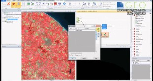 Create an NDVI in ERDAS IMAGINE – featuring the Spatial Modeller and Landsat 8