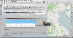 Download Landsat 8 Images with Semi-Automatic Classification Plugin v.4 for QGIS