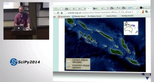 Geospatial data in Python: Database, Desktop and the Web