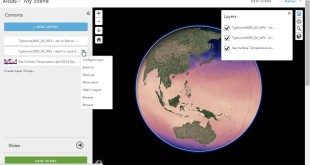 Mashup 3D content using ArcGIS Online