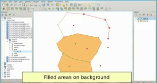 New GRASS vector editing in QGIS