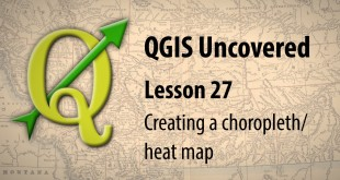 QGIS tutorial – Creating a choropleth / heat map