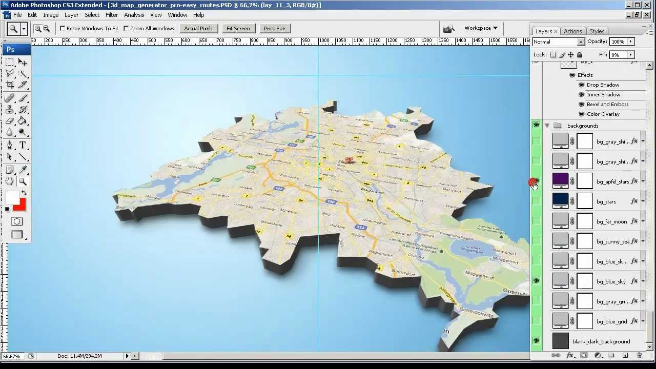 Tutorial from google screenshot to 3d map 3d map Make your own 3d shapes online
