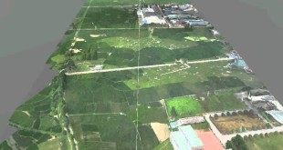 3D GIS and UAV