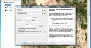 Clipping Raster Dataset in ArcGIS 10