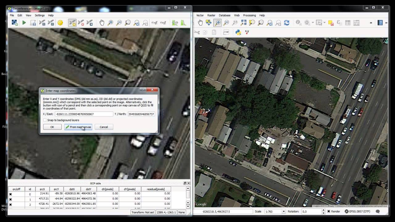 Download and georeference google earth images in qgis 28 with download and georeference google earth images in qgis 28 with openlayers plugin gumiabroncs Images