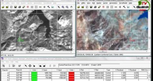 Georeferencing an Image or map by ERDAS imagine