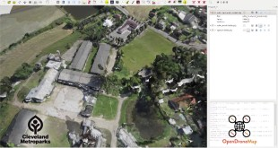 OpenDroneMap : Open Source Toolkit for processing Civilian Drone Imagery
