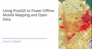 How PostGIS Powers Offline Mobile Mapping and Open Data