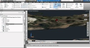AutoCAD Civil 3D : Drape Images Over A Surface