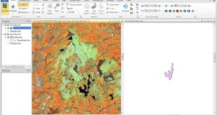 Converting between AOIs and Shapefiles in ERDAS IMAGINE