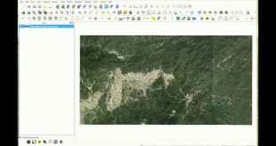 Extract contour lines from a satellite imagery in QGIS