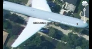 Google Earth – Planes In Flight