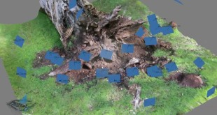 Photogrammetry With a UAV