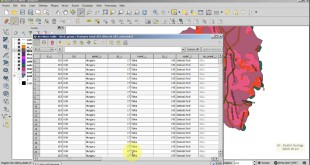 QGIS 2.8 tutorial : Geoprocessing (Buffer, Difference, Intersect), Polygonize