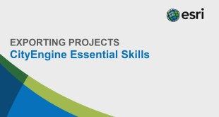 CityEngine Essential Skills: Exporting Projects