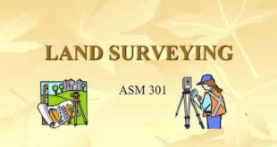 Land Surveying: Rectangular Survey – Introduction to Differential Leveling