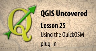 QGIS lesson : OpenStreetMap to production-ready map in minutes