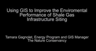 Using GIS to Improve Environmental Performance