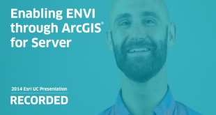 Enabling ENVI through ArcGIS for Server
