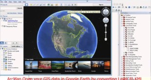 Open your GIS data in Google Earth by converting Layer to KML in ArcMap