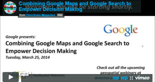 Combining Google Maps and Google Search to Empower Decision Making