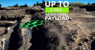 Aibot X6 UAV for Mapping Tasks and Geospatial Applications
