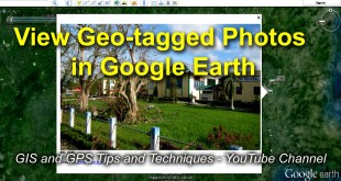 How to display geotagged photographs in Google Earth