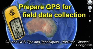 Preparing a GPS for Field Data Collection