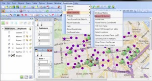 Routing and Proximity Analysis with MapInfo RouteFinder