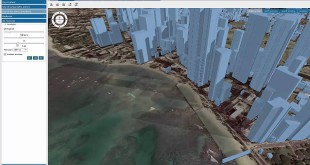 View and Measure in 3D over the Web with the Geospatial Portal