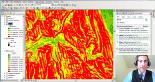 Creating a Slope Map from a Digital Elevation Model in ArcGIS