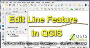 Edit Line or Polygon Feature in QGIS