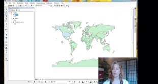 ArcMap Projection on-the-fly