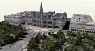 Vienna 3D using LIDAR data