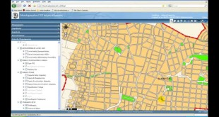 Web-GIS application for urban data management using ArcGIS Server