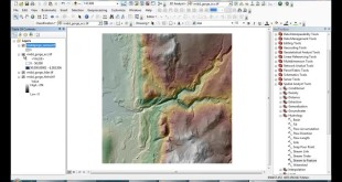 ArcGIS tutorial : Extracting river profile from a flow accumulation raster
