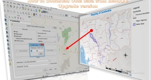 Download OpenStreetMap data using InaSAFE QGIS plugin