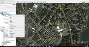 How to Save and Share Placemarks in Google Earth