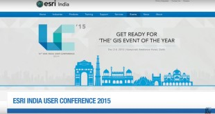 Join the Esri India User Conference 2015