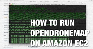Processing Aerial Imagery from UAVs Using Amazon EC2 and OpenDroneMap