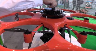 Aibotix Aibot and its high precision GNSS module