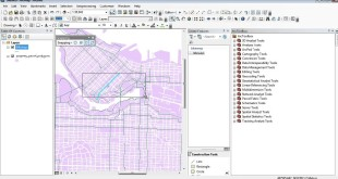ArcMap 10: More explanation on Editor – example with bikeways and property parcel polygons