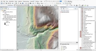 Creating a geomorphic map in ArcMap