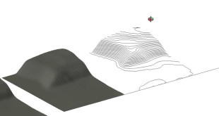 Creating Contours Lines from Google Earth Terrain in SketchUp