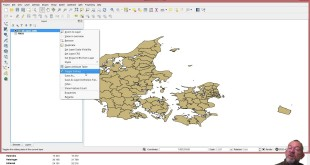Downloading data from the Danish Statistical office (Statistikbanken) and visualizing in QGIS