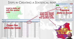 How to create statistical data for the use in QGIS