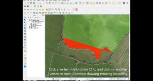 QGIS AutoTrace and Merge Features