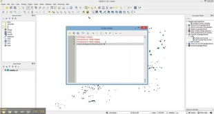 Calculate correlation between shapefile columns using QGIS+R