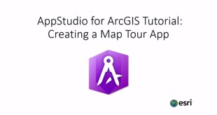 Creating a map tour a with AppStudio